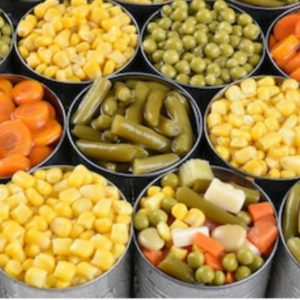 Canned Vegetables, Beans, & Broth